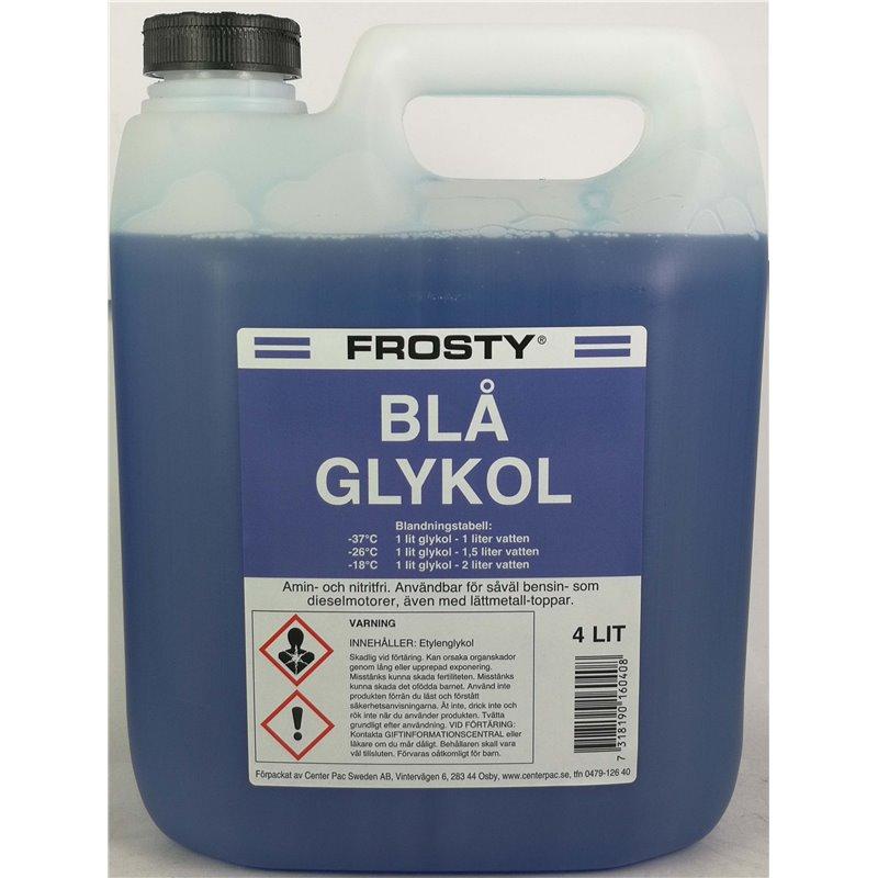 Glykol Etylen (Blå) - 1 Liter