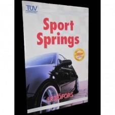 Sportfjädrar/Sänksats VW