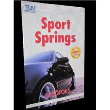 Sportfjädrar/Sänksats Seat Leon 1,8T-1,9Tdi-2,0 FSi-2,0TFSi/05 -
